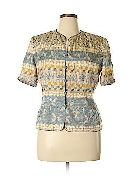 Adrianna Papell Silk Blazer Size 14