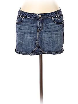 Papaya Denim Skirt Size L
