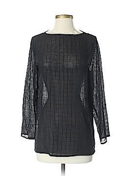 Eileen Fisher 3/4 Sleeve Silk Top Size XS