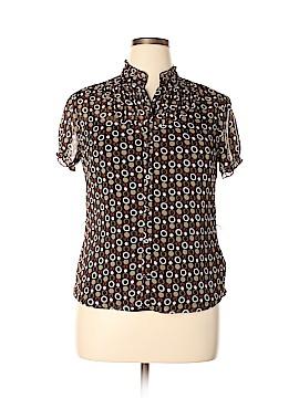 Worthington Short Sleeve Blouse Size 14