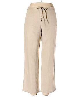 Charter Club Linen Pants Size M