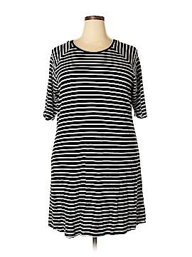 PREMISE Casual Dress Size 1X (Plus)