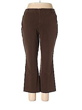 St. John's Bay Casual Pants Size 16 (Petite)