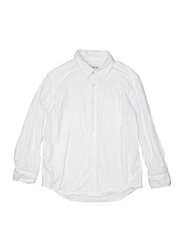 Cherokee Long Sleeve Button-Down Shirt Size 6/7