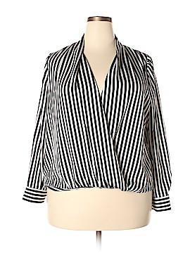 Apt. 9 Long Sleeve Blouse Size 0X (Plus)