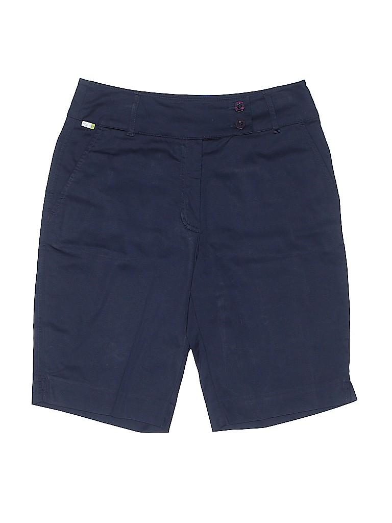 IZOD Women Khaki Shorts Size 2