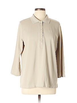 Burberry 3/4 Sleeve Polo Size L