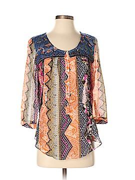 Vanessa Virginia 3/4 Sleeve Blouse Size 4