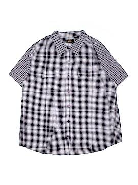 Route 66 Short Sleeve Button-Down Shirt Size 20W (Plus)