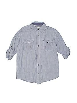Pd&c Long Sleeve Button-Down Shirt Size 7