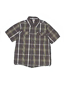 Canyon River Blues Short Sleeve Button-Down Shirt Size 14