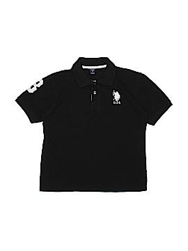 U.S. Polo Assn. Short Sleeve Polo Size 10