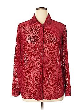 Covington Long Sleeve Blouse Size XL