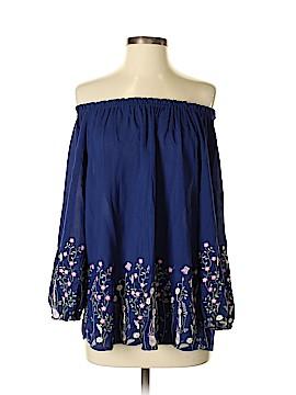 Blue Rain 3/4 Sleeve Blouse Size M