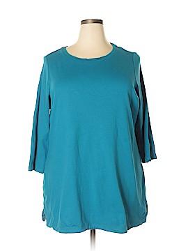 Isaac Mizrahi 3/4 Sleeve Top Size 1X (Plus)