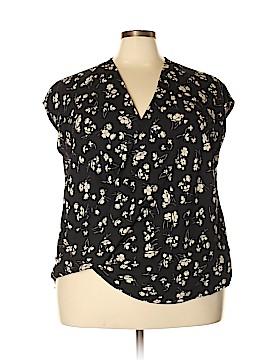 Lauren by Ralph Lauren Short Sleeve Blouse Size 3X (Plus)