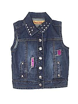 Apple Bottoms Denim Vest Size 5