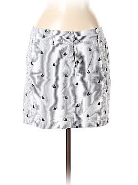 British Khaki Casual Skirt Size 6