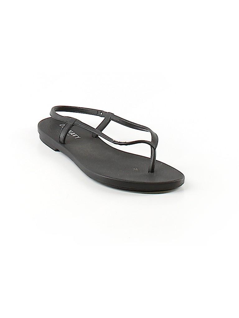 49daf6dd4ac Old Navy Solid Black Sandals Size 6 - 76% off