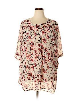 JunaRose Short Sleeve Blouse Size 14 (Plus)