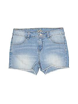 Justice Denim Shorts Size 14