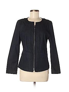 Lafayette 148 New York Denim Jacket Size 8