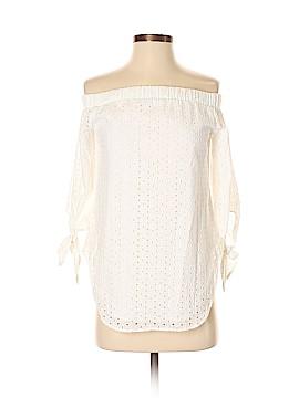 Bar III 3/4 Sleeve Blouse Size XS