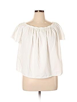 Gap Outlet Short Sleeve Blouse Size XL