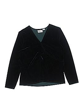 Kathie Lee Long Sleeve Top Size XL