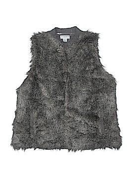 Sag Harbor Faux Fur Vest Size 2X (Plus)