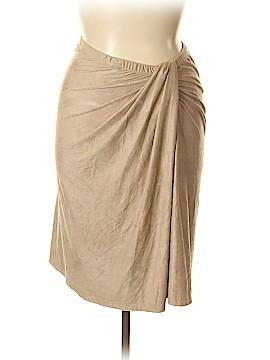 Melissa Paige Casual Skirt Size XL (Petite)