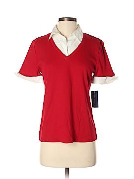 Karen Scott Short Sleeve Polo Size S