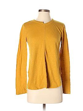 Left of Center Long Sleeve T-Shirt Size S (Petite)
