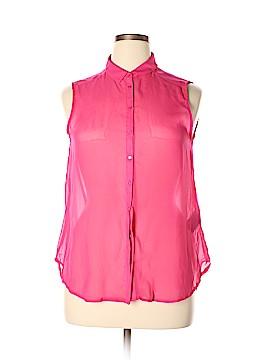 H&M Sleeveless Blouse Size 14