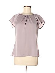 Ann Taylor Factory Women Short Sleeve Blouse Size 8 (Petite)