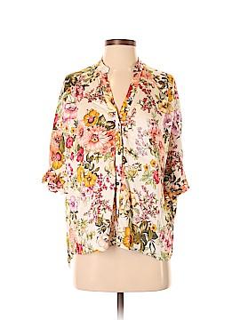 Zara Basic 3/4 Sleeve Blouse Size XS