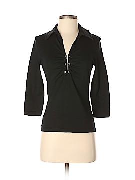 St. John Sport 3/4 Sleeve Top Size P