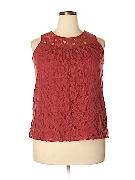 Como Vintage Sleeveless Blouse Size 1X (Plus)