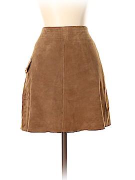J. Crew Leather Skirt Size 4