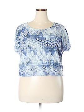 6th & LN Short Sleeve Blouse Size 18 (Plus)