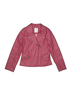 Mayoral Faux Leather Jacket Size 12