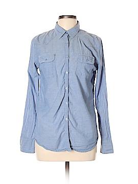 Derek Heart Long Sleeve Button-Down Shirt Size L