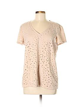 Caslon Short Sleeve Top Size M