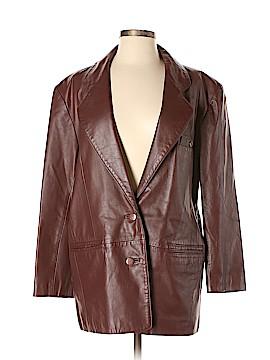 Etienne Aigner Leather Jacket Size S
