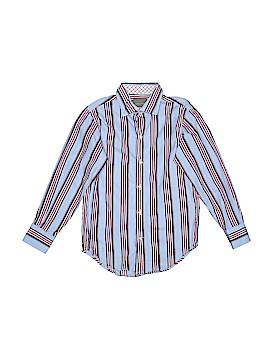 Thomas Dean Long Sleeve Button-Down Shirt Size X-Large (Kids)