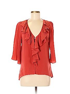 Fifteen Twenty 3/4 Sleeve Silk Top Size M