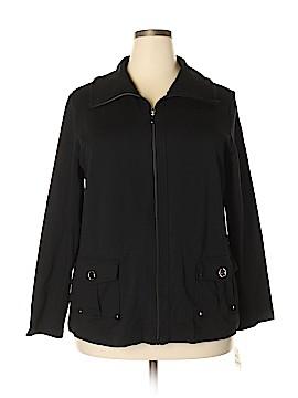 Karen Scott Jacket Size 1X (Plus)