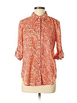 Ann Taylor Factory 3/4 Sleeve Button-Down Shirt Size M