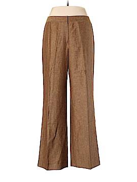 Lafayette 148 New York Linen Pants Size 14