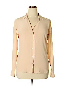 Equipment Long Sleeve Blouse Size L